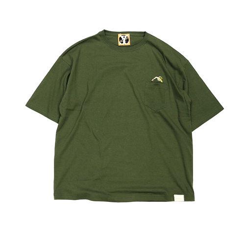 BANANA MAGIC POCKET T-shirts [ KAHKI ]