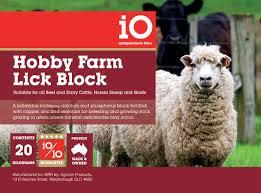 Hobby Farm Block 2kg