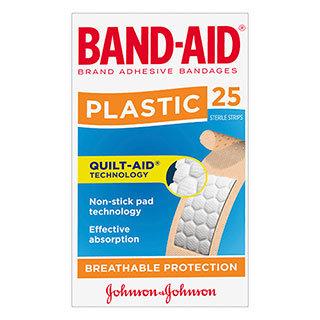 BandAid Plastic 25pk