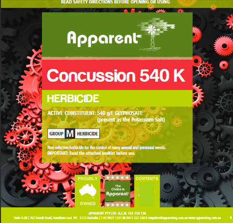 Concussion 540 1 ltr