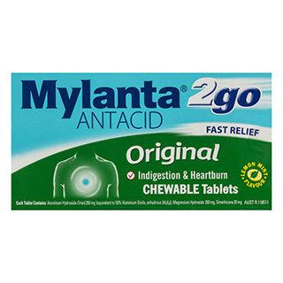 Mylanta 2 Go 24pk