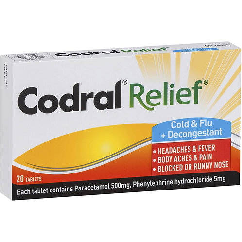 Codral Relief Cold and Flu 10pk