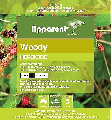 Apparent Woody 5ltrs