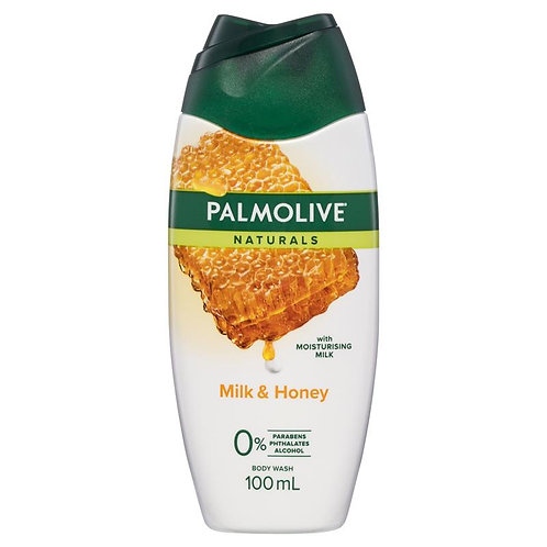 Palmolive Milk and Honey Body Wash 100ml