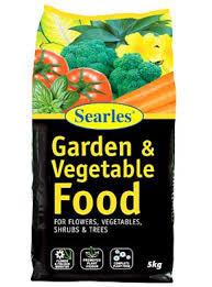 5kg Garden & Vegetable Food