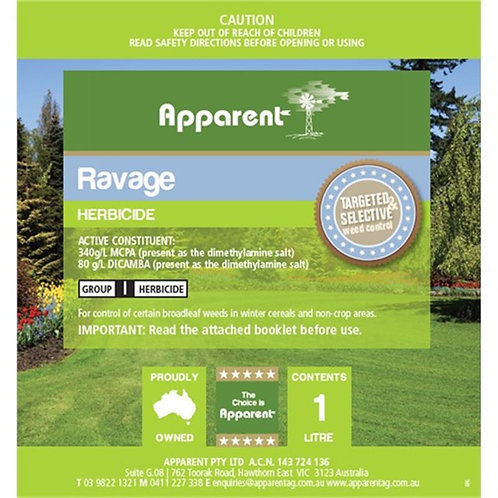 Ravage (Dicamba MCPA) 1 LTR
