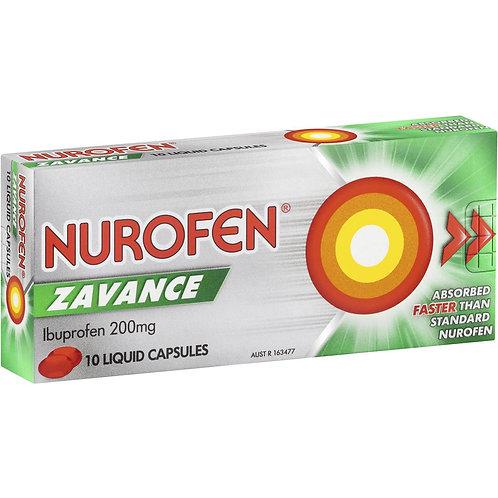 Nurofen Zavance 10pk