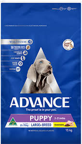 Advance Puppy Plus Growth Large Breed Chicken 15kg