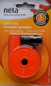 Fountain Sprinkler