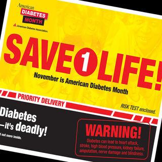 American Diabetes Association Mailing