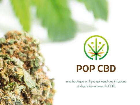Pop CBD Logo