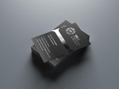 Logo Design + Carte de visite.