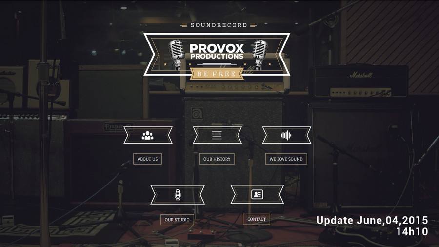 [LOGO] PROVOX PRODUCTIONS
