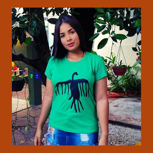 Camiseta Feminina Marimbondo