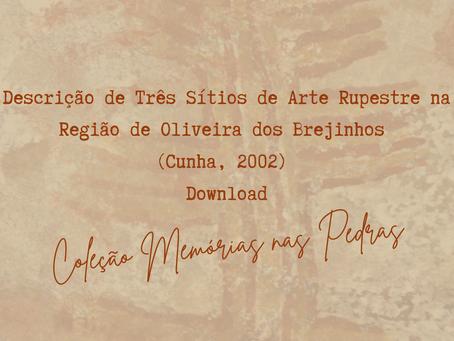 Descrição de Três Sítios de Arte Rupestre na Região de Oliveira dos Brejinhos (Cunha, 2002) Download