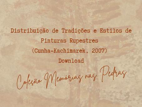 Distribuição de Tradições e Estilos de Pinturas Rupestres (Cunha-Kachimarek, 2007) Download