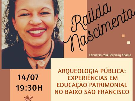 TV Opará convida Railda Nascimento