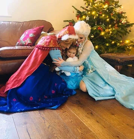 Jollypop Entertainment Princess Party Visit from Princesses Children's entertainer Berkshire Hampshire Oxfordshire
