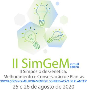 II SimGeM será virtual e gratuito!!! As novas datas são 25 e 26 de agosto de 2020.
