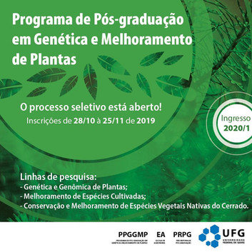 Processo seletivo PPGGMP 2020-1
