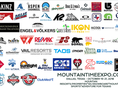 MOUNTAINTIMEEXPO.COM - OCT 19-21, 2018 - Dallas Market Hall, Texas - MOUNTAIN RESORTS/PROPERTIES*SKI