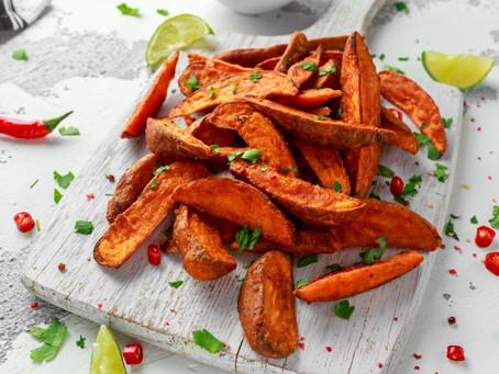 Crispy Baked Sweet Potato Fries (Gluten Free)
