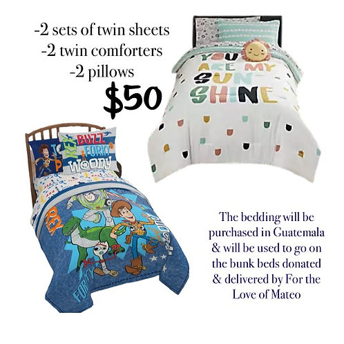 Bedding (for Bunk Beds)