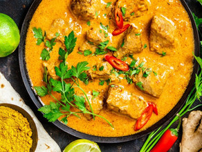 Butterless Butter Chicken (dairy free, keto friendly)