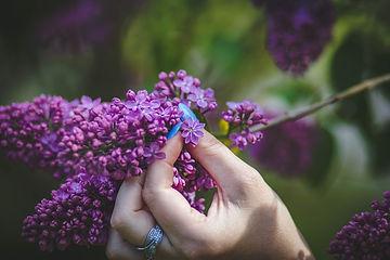 person-holding-purple-hyacinth-flower-11