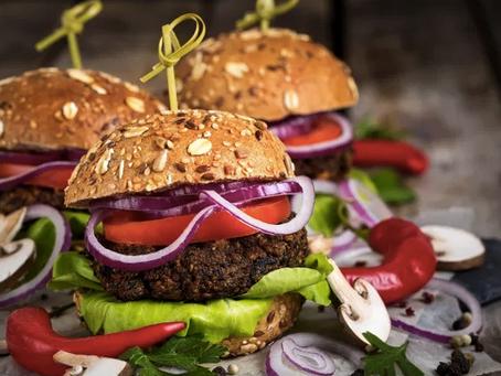 Vegan Steak Spiced Black Bean Burgers