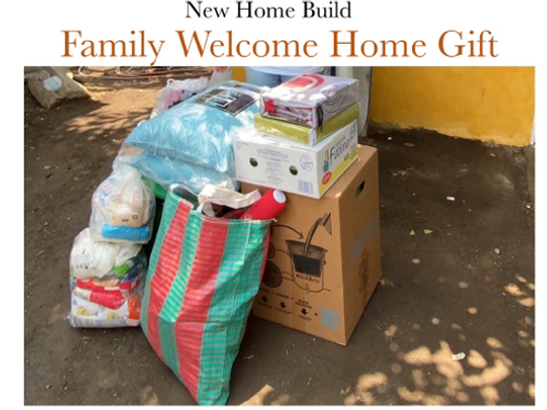 """Family """"Welcome Home"""" Gift"""