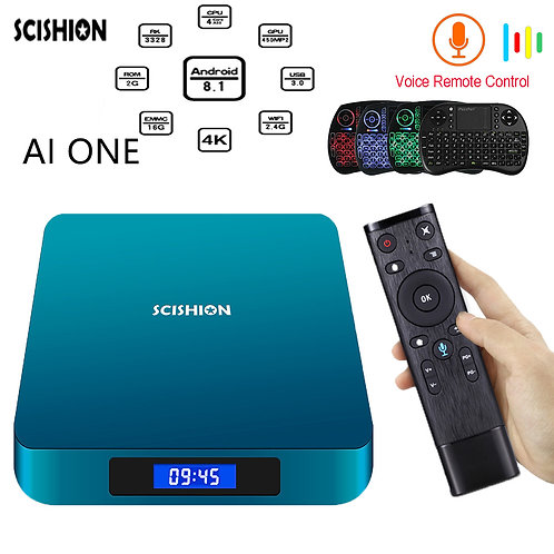 AI ONE Tv Reciever With Voice Control