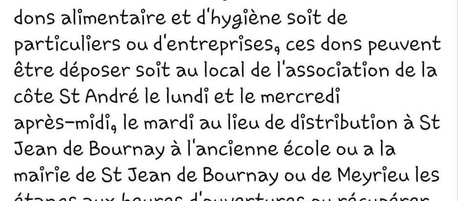 3ABI Association Aide Alimentaire Bièvre Isère