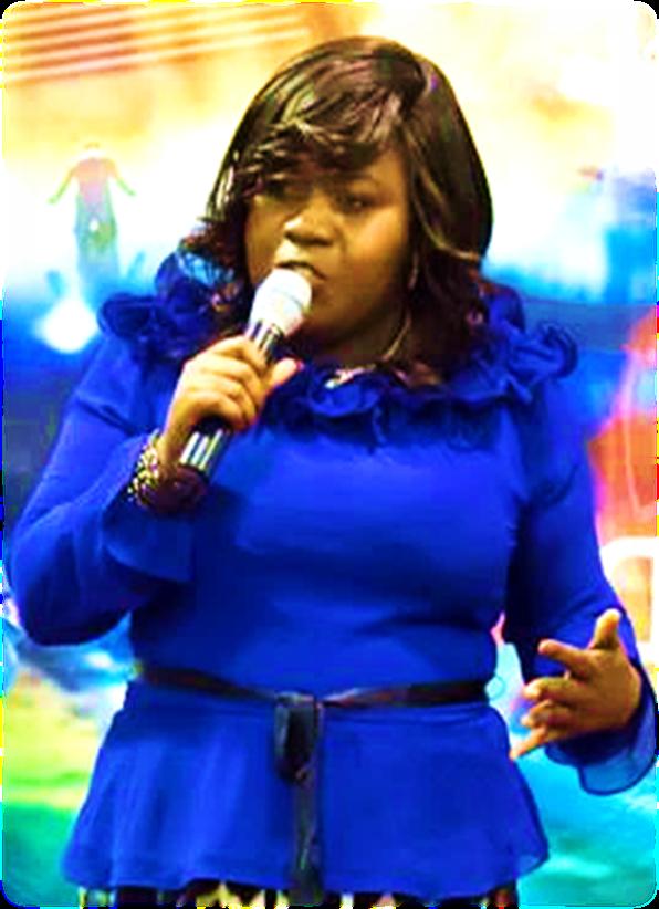 Rev. Rosemary ministering
