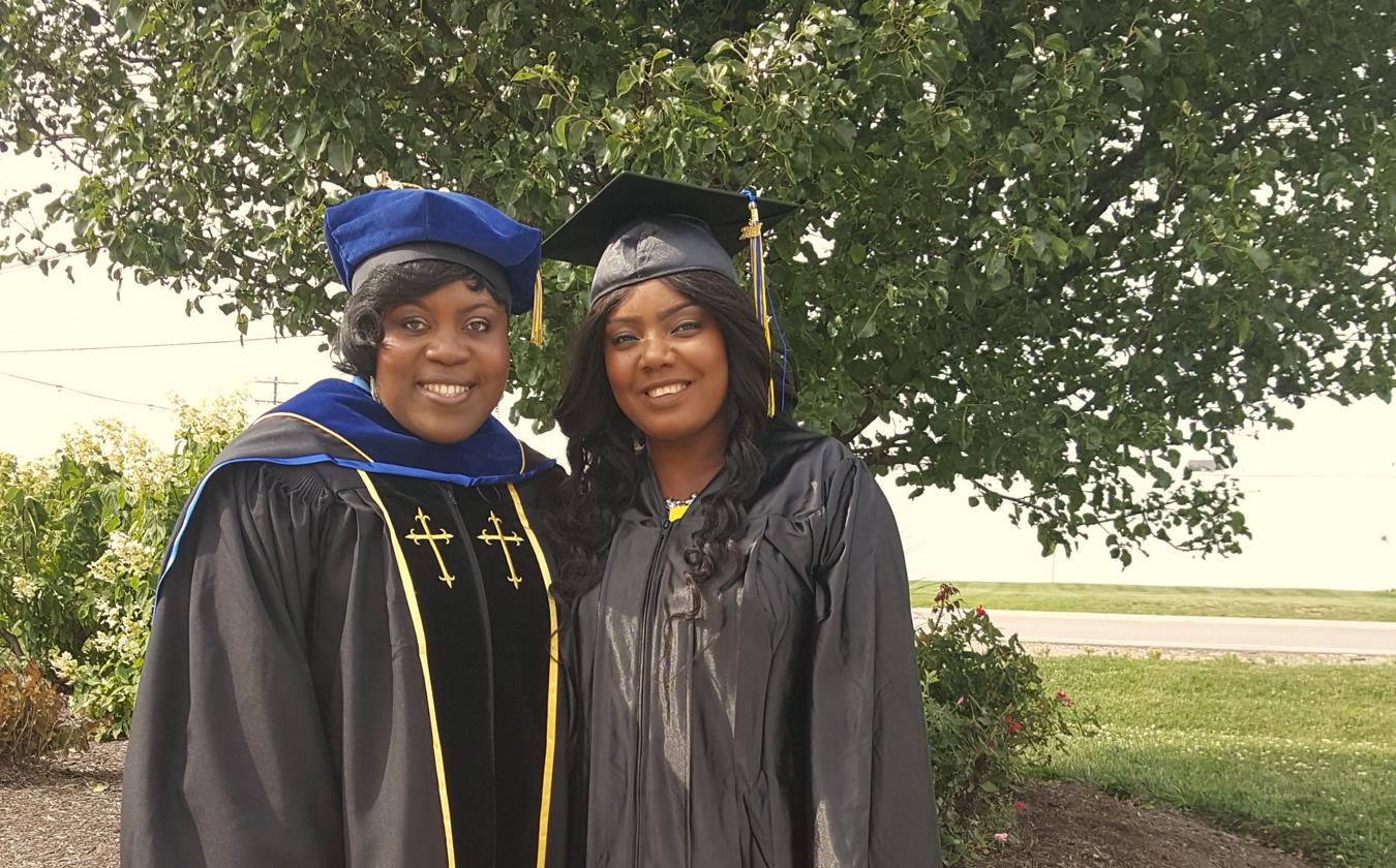 Pastor Ari and DCIBIN Pro-Chancellor