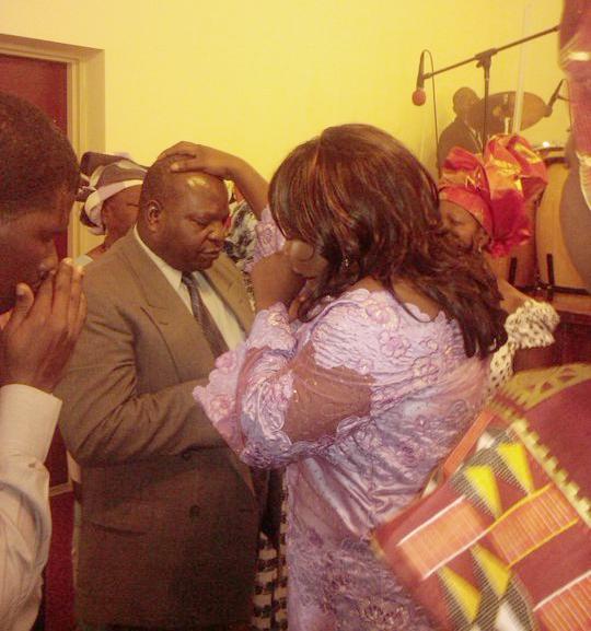 Rev. Rosie ministering