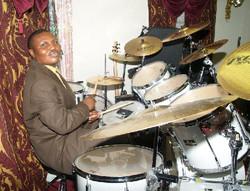Joe mens on drums