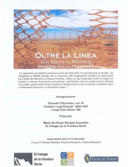 """Exposición Fotográfica """"Del Golfo al Pacífico"""" presentada en la Universidad de Turín, Ital"""