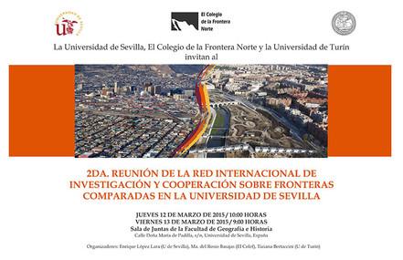 2da. Reunión de la Red Internacional de Investigación y Cooperación sobre Fronteras Comparadas