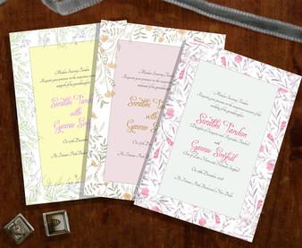 Set of invites