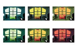 Graviton Lab color palettes