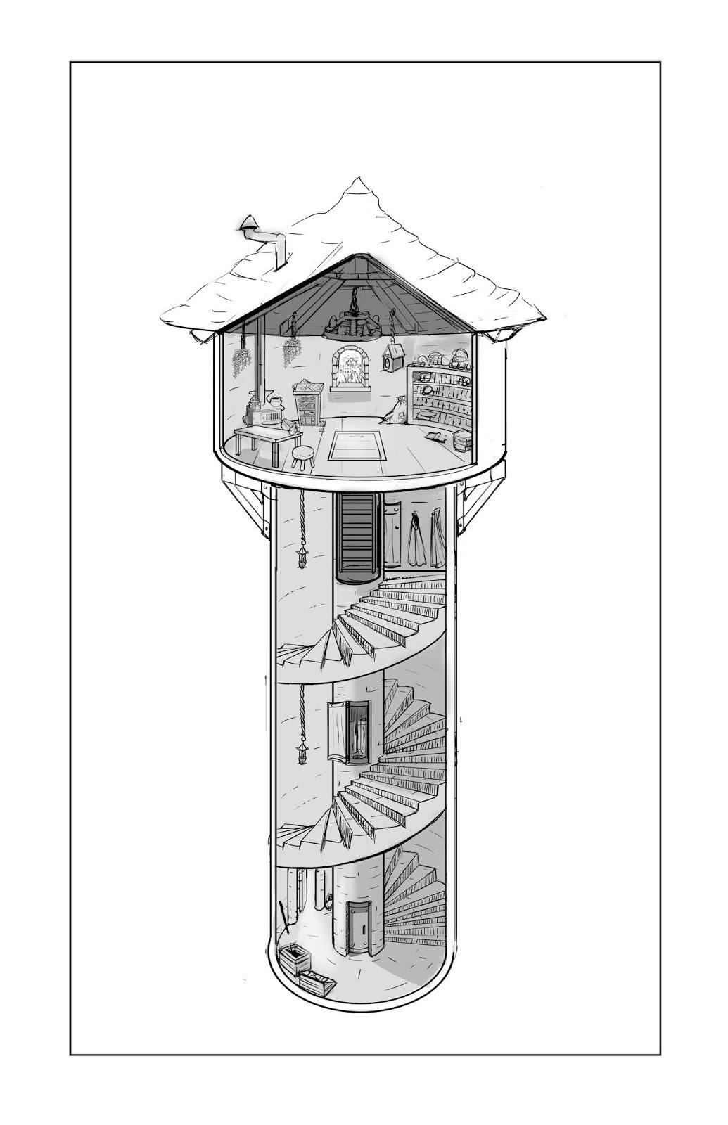 WB1 - Tower Cutaway