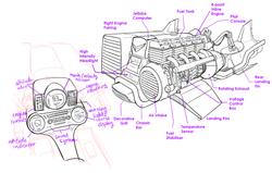 WB1 - Jetbike Cutaway