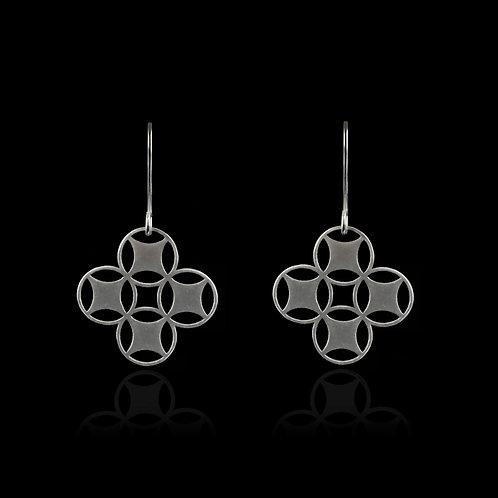Inspired Earrings (Silver)