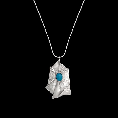 Asymmetrical Pendant (Silver)