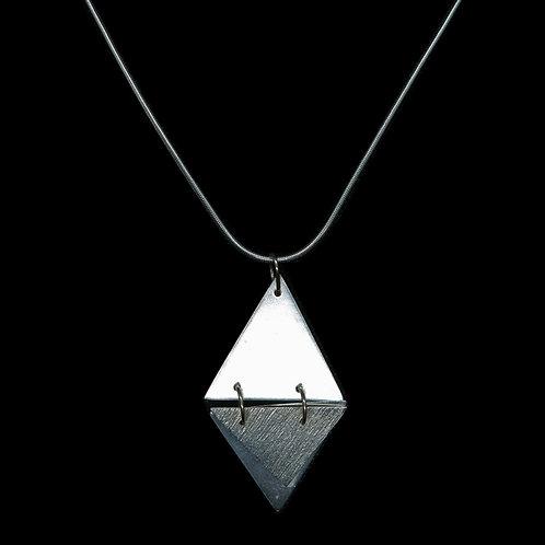 Floating Triangle Pendant
