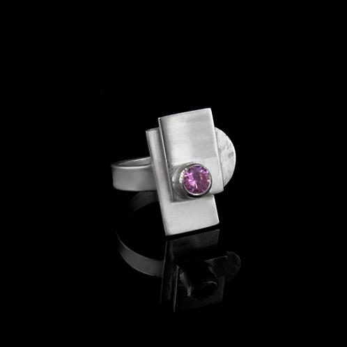 Geometric Ring (Silver)