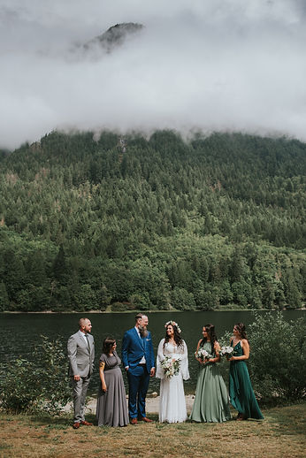 Fraser Valley Wedding Party Photography