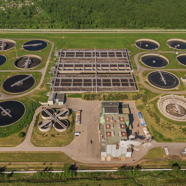 Wastewater treatment plant turkey