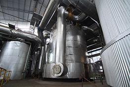 vacuum pans evaporator equipment in a su